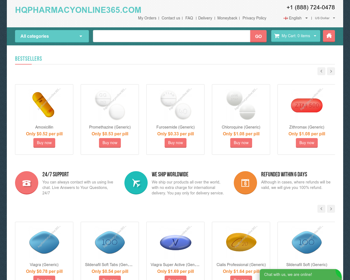 Hq Pharmacy Online 365: A Competitive Source For Restricted Products