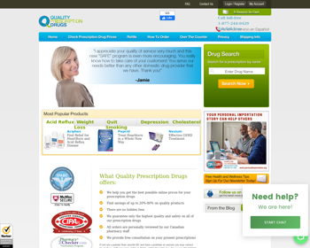 Quality Prescription Drugs Review – The Online Store With Fake Testimonials And Unapproved Testimonials