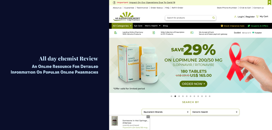 All Day Chemist Review – An Online Resource For Detailed Information On Popular Online Pharmacies