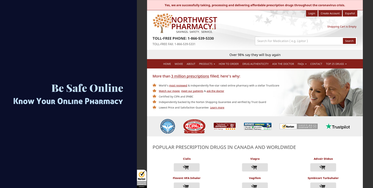 Be Safe Online: Know Your Online Pharmacy
